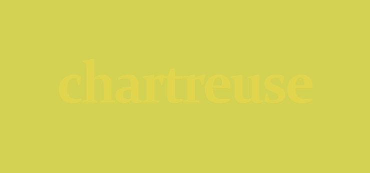 chartreuse title