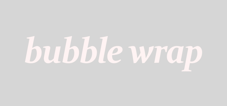 bubble wrap title